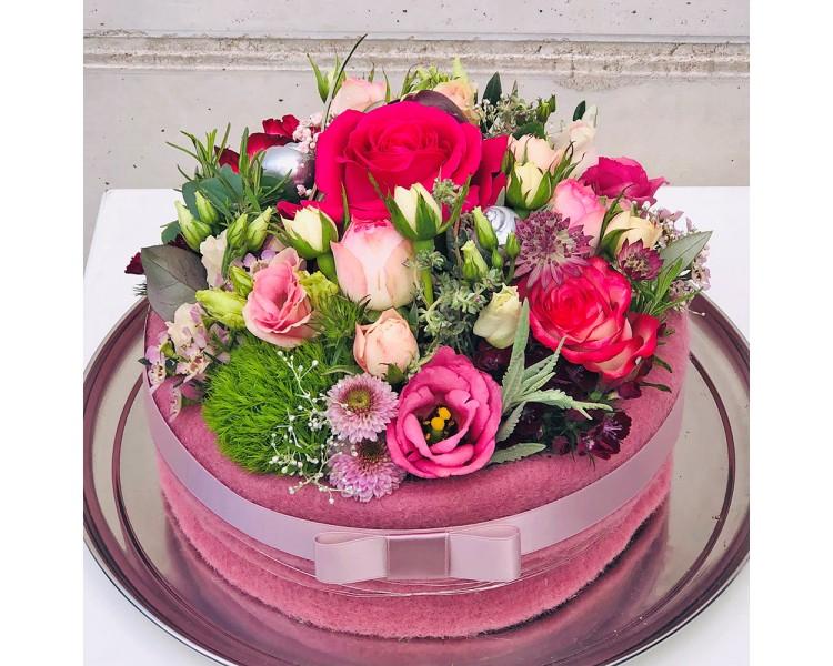 Blumentorte, Größe XL