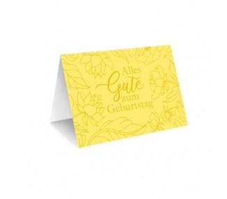 Grußkarte & Umschlag